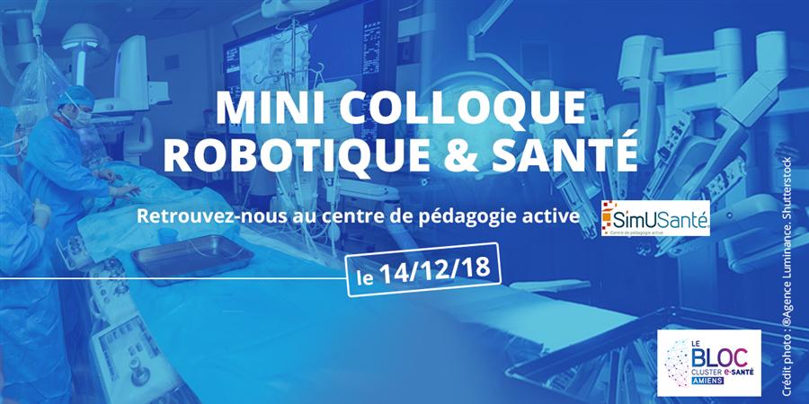 Mini colloque Robotique & Santé